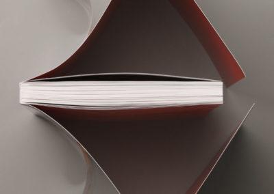 013 3443 Paperback with flaps PVC jacket Klappenbroschur Schutzumschlag Belvedere